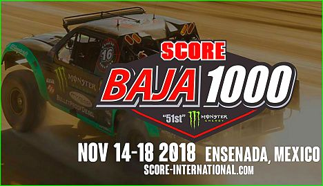 2018 Score Internationa Baja 1000